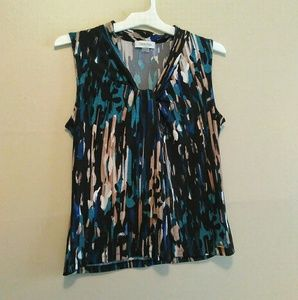 Calvin Klein Knotted Blouse!
